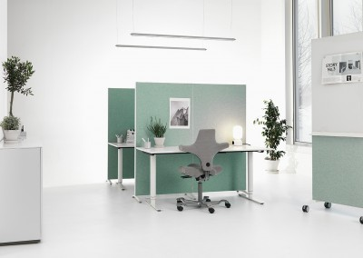 Abstracta-Alumi-skärmväggar