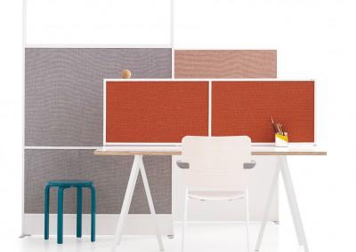 Zilenzio Offizz golv och skrivbordsskärmar