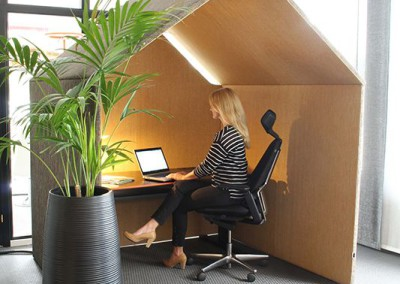 Telefonhytt / Tyst rum i kontor Götessons The Hut